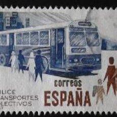 Sellos: EDIFIL 2560-62, SERIE COMPLETA EN USADO. TRANSPORTES COLECTIVOS.. Lote 141180678