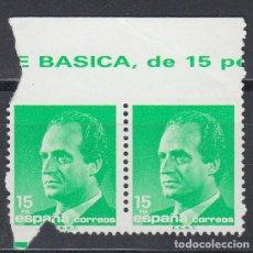 Sellos: ESPAÑA,1989 EDIFIL Nº 3004 DW, VARIEDAD DE PERFORACIÓN, DENTADO PARCIALMENTE, . Lote 141212570