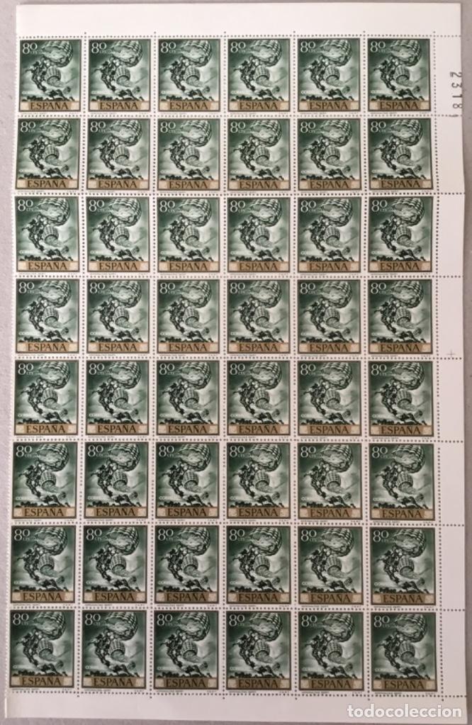 """1966-ESPAÑA JOSE Mª SERT EDIFIL 1713 """"LOS ARGONAUTAS"""" - BLOQUE 48 UND. - VC2108: 9,60 € (Sellos - España - Juan Carlos I - Desde 1.975 a 1.985 - Nuevos)"""