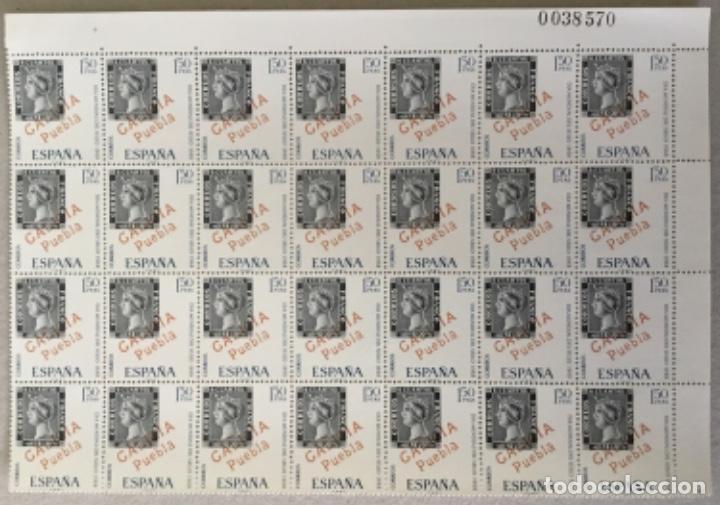 """1968-ESPAÑA DÍA MUNDIAL DEL SELLO EDIFIL 1869 """"GALICIA, PUEBLA"""" - BLOQUE 28 UND. - VC2108: 5,6 € (Sellos - España - Juan Carlos I - Desde 1.975 a 1.985 - Nuevos)"""