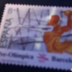 Sellos: 1989 SELLO JUEGOS OLÍMPICOS BARCELONA 1992. II SERIE. BALONMANO. NUEVO. 8+5 P. 2994. Lote 141724588