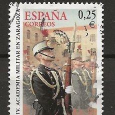 Sellos: R60/ ESPAÑA USADOS 2002, EDIFIL 3886 ... ZARAGOZA. Lote 142234626