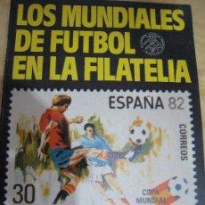 Sellos: MUNDIAL DE FUTBOL 1982 ALBUM CON 10 SELLOS C/FILOESTUCHES. Lote 113511947
