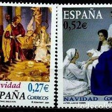 Sellos: ESPAÑA 2004- EDI 4128/29 (NAVIDAD) NUEVOS***SIN/CH. Lote 142916238