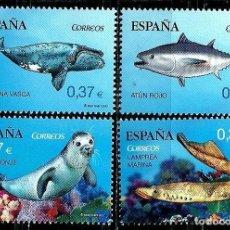 Sellos: ESPAÑA 2013- EDI 4799A/D SH (FAUNA MARINA) (NUEVO)***SIN/CH. Lote 142916730