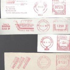 Sellos: FRAGMENTOS MECANICOS BARCELONA Y GIRONA GERONA AÑOS 80. Lote 143061290