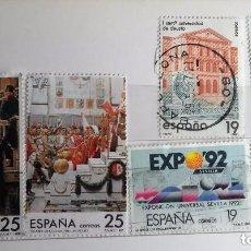 Sellos: ESPAÑA 1987, 6 SELLOS USADOS DIFERENTES . Lote 143116626