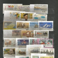 Sellos: ESPAÑA.LOTE DE 80 SELLOS ATMS USADOS DISTINTOS. Lote 143144094