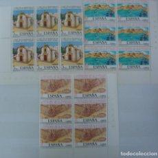 Sellos: FUNDACION DE LAS PALMAS - 3 BLOQUES DE 6 SELLOS (3 VALORES) - EDIFIL 2477-79 - AÑO 1978 - NUEVO-LUJO. Lote 143630954