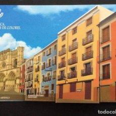 Sellos: ESPAÑA. AÑO 2018. CUENCA. CASAS DE COLORES. SELLO TROQUELADO. Lote 143764682