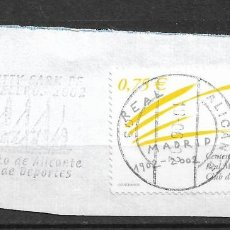 Sellos: ESPAÑA AÑO 2002 USADO - 1/47. Lote 143790286