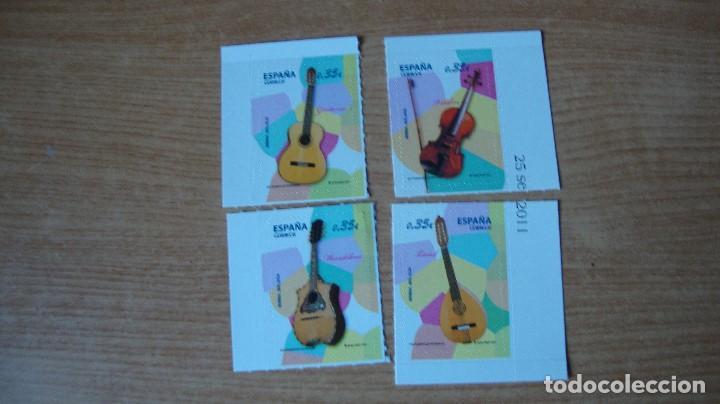 ESPAÑA INSTRUCMENTOS MUSICALES EDIFIL 4628/31 (Sellos - España - Juan Carlos I - Desde 2.000 - Nuevos)