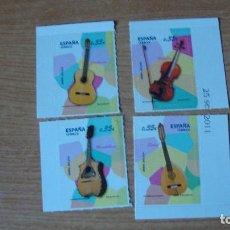 Sellos: ESPAÑA INSTRUCMENTOS MUSICALES EDIFIL 4628/31. Lote 143913050