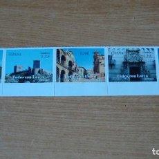 Sellos: ESPAÑA TODOS CON LORCA EDIFFIL 4691/95 PERFECTOS. Lote 143914910