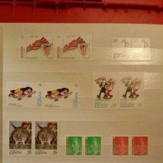 Sellos: COLECCION COMPLETA SELLOS NUEVOS POR DUPLICADO DE 1998 - ESPAÑA ANDORRA GUINEA . Lote 144000934
