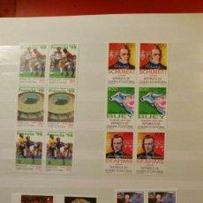Sellos: COLECCION COMPLETA SELLOS NUEVOS POR DUPLICADO DE 2007 - ESPAÑA ANDORRA GUINEA . Lote 144001142