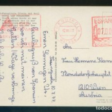 Sellos: TP CIRCULADA DE FUENGIROLA A AUSTRIA EL 12 JUL. 1977. FRANQUEO MECÁNICO *HOTEL LAS PIRÁMIDES* . Lote 144047366