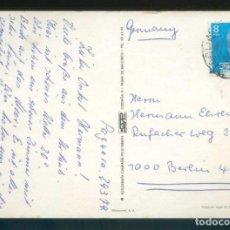 Sellos: TP CIRCULADA A ALEMANIA. MATASELLOS BERLÍN 11 ABR. 1979 DE *ANULACIÓN DE FRANQUEO* POCO LEGIBLE.. Lote 144056702