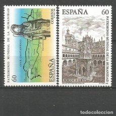 Selos: ESPAÑA GUADALUPE Y CAMINO DE SANTIAGO EDIFIL NUM. 3390/3391 ** SERIE COMPLETA SIN FIJASELLOS. Lote 258055945