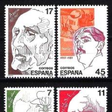 Sellos: ESPAÑA 1986 - EDIFIL NUM. 2853/2856 MNH** NUEVOS SERIE COMPLETA - PERSONAJES. Lote 144475974