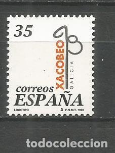ESPAÑA XACOBEO´99 EDIFIL NUM. 3525 ** SERIE COMPLETA SIN FIJASELLOS (Sellos - España - Juan Carlos I - Desde 1.986 a 1.999 - Nuevos)