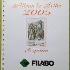 Sellos: ESPAÑA SPAIN AÑO 2005 COMPLETO. Lote 144501718