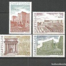 Sellos: ESPAÑA CASTILLOS EDIFIL NUM. 3785/3786 ** SERIE COMPLETA SIN FIJASELLOS. Lote 144502330