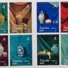 Sellos: ESPAÑA SPAIN CARNÉ DE SELLOS AUTOADHESIVOS 2004 EDIFIL 4102-09 CERÁMICA. Lote 180343500