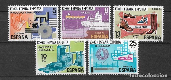 ESPAÑA 1980 EDIFIL 25683/2567 ** MNH - 12/34 (Sellos - España - Juan Carlos I - Desde 1.975 a 1.985 - Nuevos)
