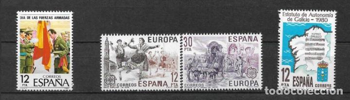ESPAÑA 1981 LOTE SERIES COMPLETAS ** MNH - 12/35 (Sellos - España - Juan Carlos I - Desde 1.975 a 1.985 - Nuevos)