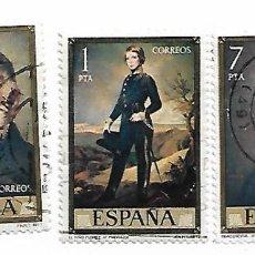 Sellos: SELLO DE ESPAÑA. USADO. 1977. FEDERICO MADRAZO Nº 2429/36. LOTE TRES SELLOS SUELTOS.. Lote 144732178