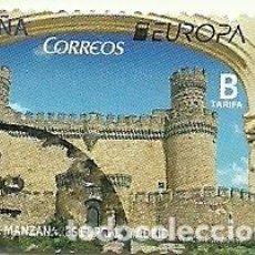 Sellos: SELLO USADO ESPAÑA , AÑO 2017 CASTILLO DE MANZANARES. Lote 145014154