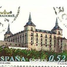 Sellos: SELLO USADO ESPAÑA , EDIFIL 4096 , PARADOR DE LERMA. Lote 145130070