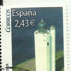 Sellos: SELLO USADO ESPAÑA , EDIFIL 4348 FARO GORLIZ. Lote 152840625