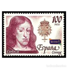 Sellos: ESPAÑA 1979. EDIFIL 2556. REYES DE ESPAÑA. CASA DE AUSTRIA. NUEVO** MHN. Lote 50660244