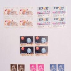 Sellos: SELLOS DE ESPAÑA AÑO 1987 EN BLOQUE DE 4. Lote 145292501