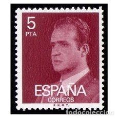 Sellos: ESPAÑA 1976. EDIFIL 2347. REY JUAN CARLOS I. NUEVO** MNH. Lote 145351534