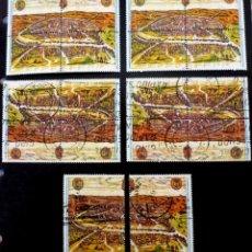 Sellos: ESPAÑA 1992- FOTO 737- EXP. MUNDIAL SEVILLA ( 8 NUEVOS) Y (12 USADOS). Lote 146086734