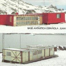 Sellos: TARJETA POSTAL CIRCULADA DE LA BASE ANTARTICA ESPAÑOLA JUAN CARLOS 1º , MATASELLADA EN LA BASE 1993. Lote 146160054
