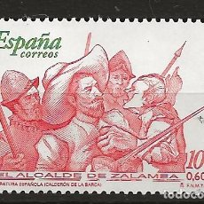 Sellos: R60/ ESPAÑA USADOS 2000, EDIFIL 3774, LITERATURA ESPAÑOLA. Lote 146344470
