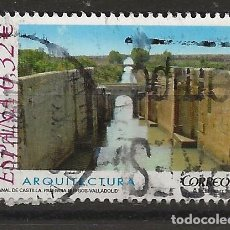 Sellos: R60/ ESPAÑA USADOS 2009, ARQUITECTURA. Lote 146347518