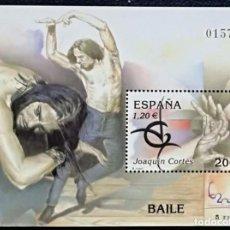 Sellos: HOJA BLOQUE ESPAÑA 2000 EDIFIL SH3762 - JOAQUIN CORTES - NUEVO - MNH. Lote 146411266