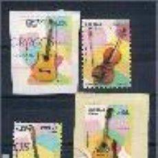 Sellos: INSTRUMENTOS MUSICALES. ESPAÑA. EMIT. 24-1-2011. Lote 146609694