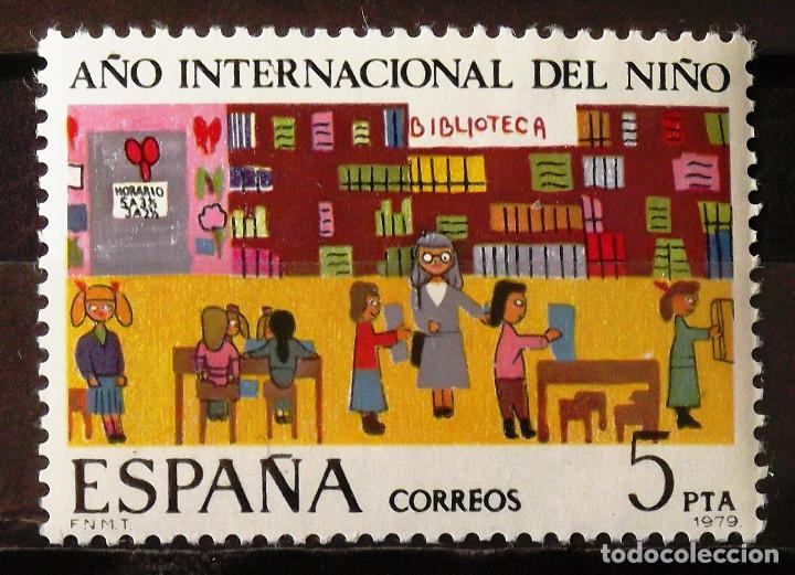 EDIFIL 2519, SERIE NUEVA, SIN CH. AÑO INTERNACIONAL DEL NIÑO. (Sellos - España - Juan Carlos I - Desde 1.975 a 1.985 - Nuevos)