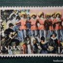 Sellos: SELLO - CARNAVAL DE CÁDIZ - EDIFIL 2840 - AÑO 1986 - 17 PESETAS. Lote 161127290