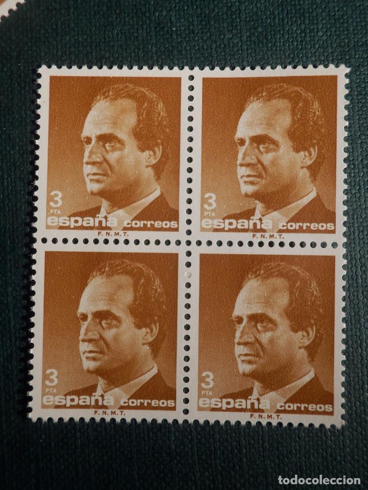 SELLO - JUAN CARLOS I - EDIFIL 2830 - AÑO 1986 - 3 PESETAS - BLOQUE DE 4 (Sellos - España - Juan Carlos I - Desde 1.986 a 1.999 - Nuevos)