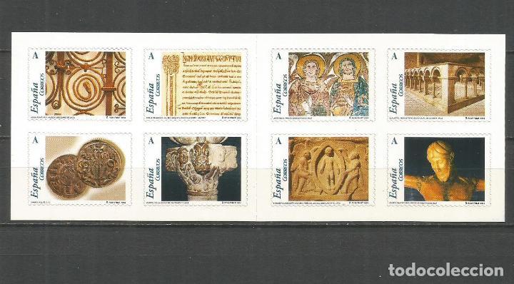 ESPAÑA EL ROMANICO ARAGONES EDIFIL NUM. 4052/4059 CARNET 4052C ** SERIE COMPLETA SIN FIJASELLOS (Sellos - España - Juan Carlos I - Desde 2.000 - Nuevos)