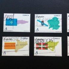 Sellos: SELLOS ESPAÑA 2009 - AUTONOMÍAS - COMPLETA. Lote 94331171