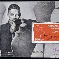Sellos: HOJA BLOQUE ESPAÑA 2000 EDIFIL SH3759 JESUS DEL POZO - NUEVO - MNH. Lote 147259254