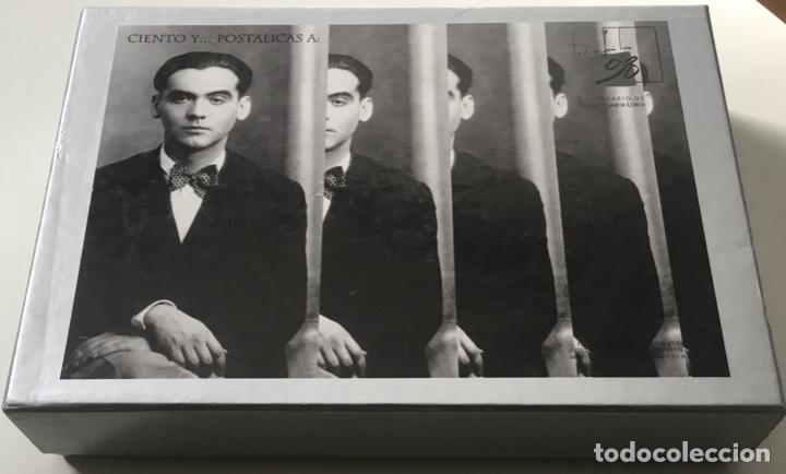 """Sellos: 1998-ESPAÑA Caja """"Cientos de postalicas Federico García Lorca"""" - más de 250 postales - - Foto 2 - 147482198"""
